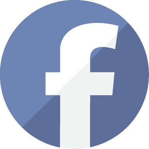 logo facebook en html